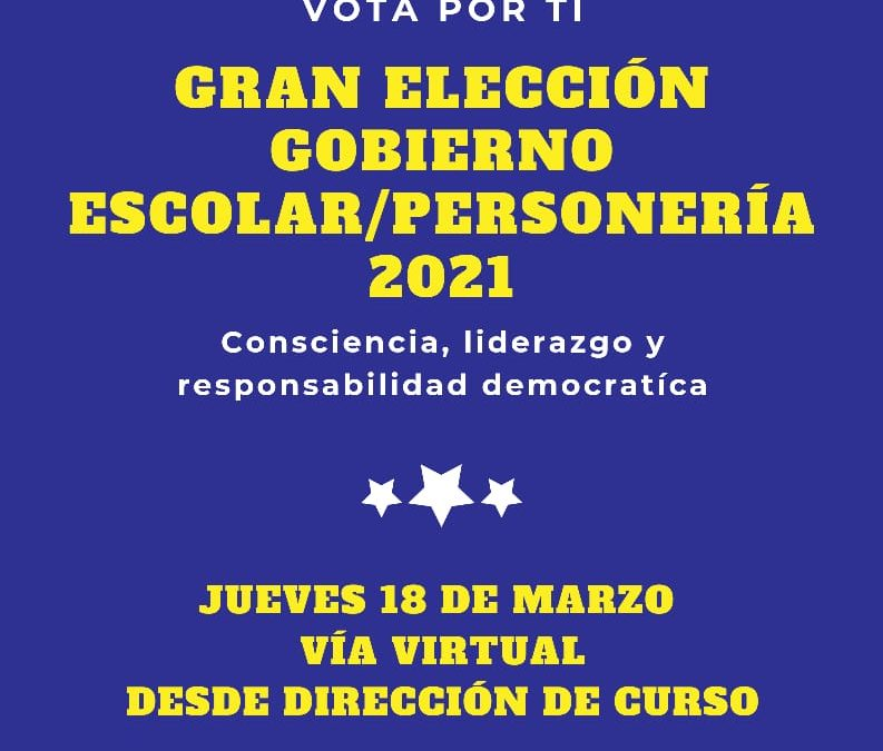 Elección Gobierno Escolar 2021